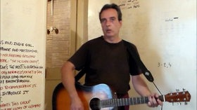 Formidable songwritin effort last summer for the 12 songs of 'President of the States' then recording for vid.me, soon 20,000 views.
